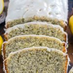 Quick and easy Lemon Poppy Seed Bread is packed with citrusy freshness from using lots of lemon zest and juice, with crunchy poppy seeds and lemon glaze.