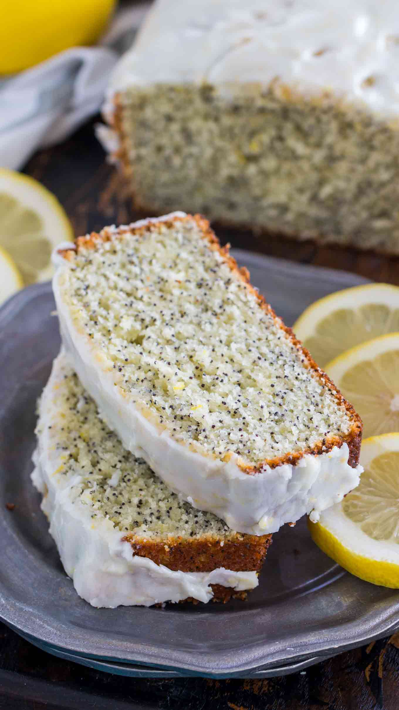 Quick and Easy Lemon Desserts - Lemon Poppy Seed Bread