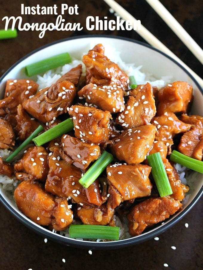 Instant Pot Mongolian Chicken Recipe