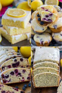 Quick and Easy Lemon Desserts