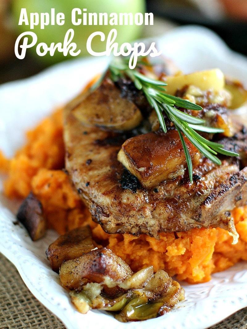 Apple Cinnamon Pork Chops Recipe