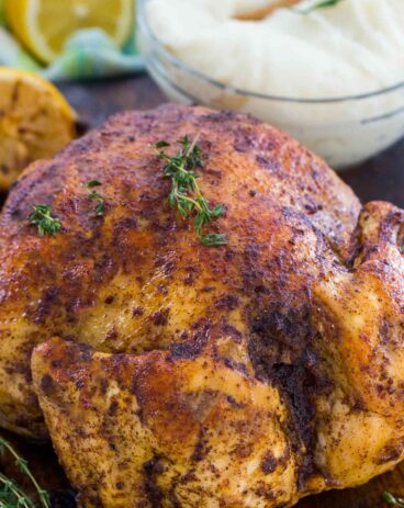 Easy Instant Pot Whole Chicken from Fresh or Frozen