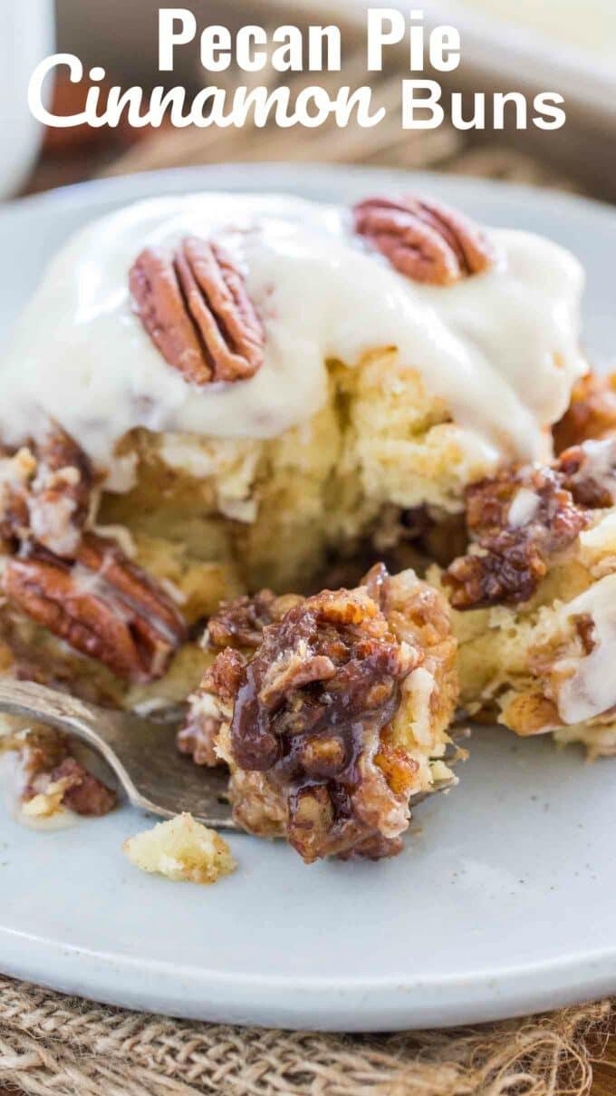 Pecan Pie Cinnamon Rolls Recipe