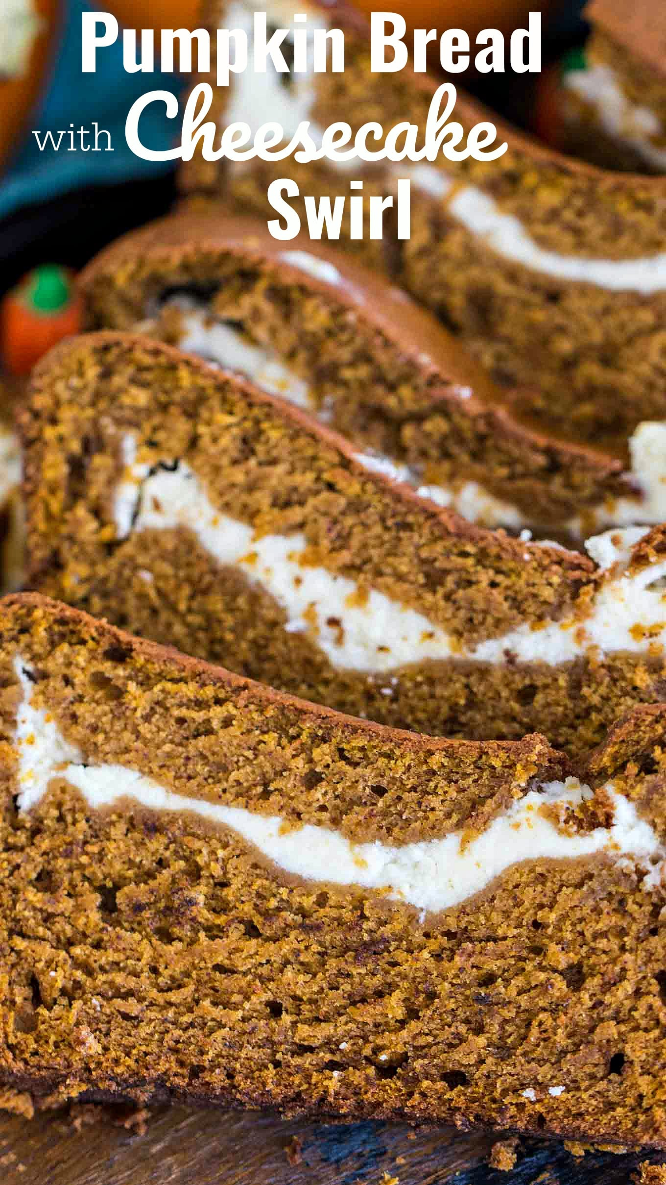 Pumpkin Bread With Cream Cheese Filling Video Sweet And Savory Meals