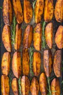 Crispy Roasted Rosemary Potatoes Recipe