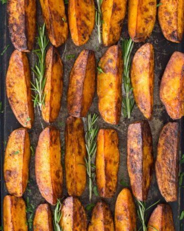 Crispy Roasted Rosemary Potatoes