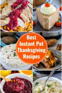 Instant Pot Thanksgiving Recipes