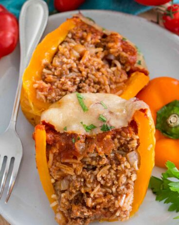 Perfect Stuffed Peppers Recipe