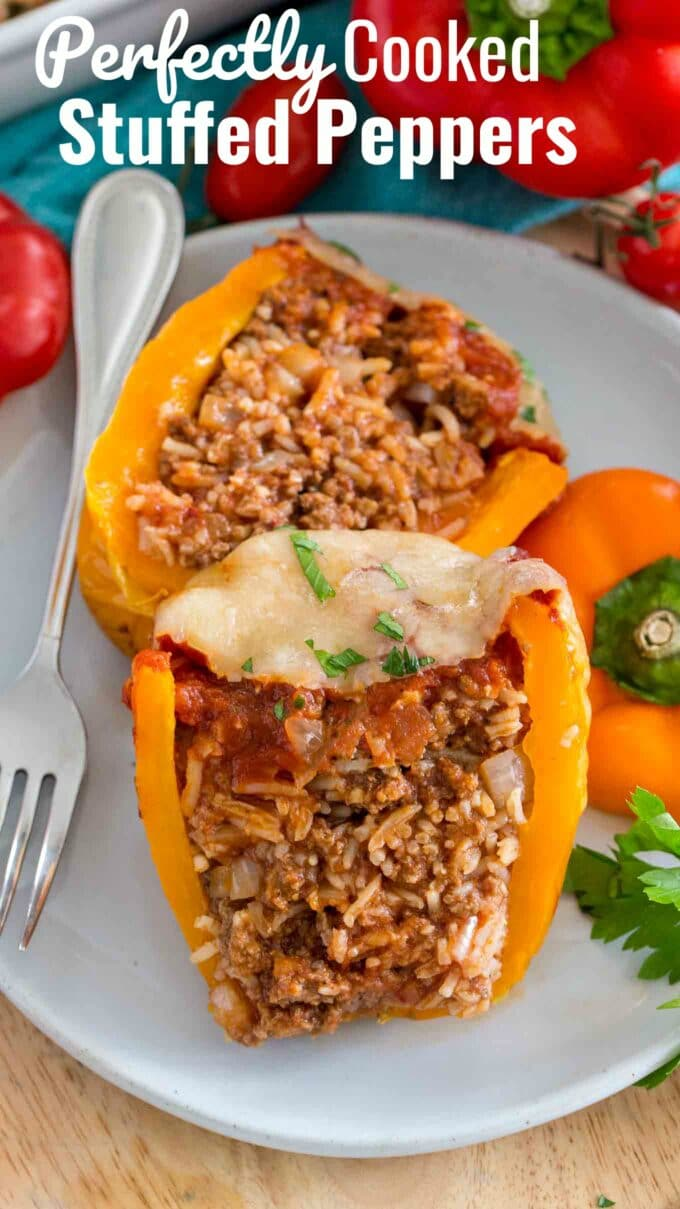 Best Stuffed Peppers Recipe