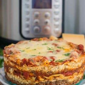 Instant Pot Lasagna Recipe