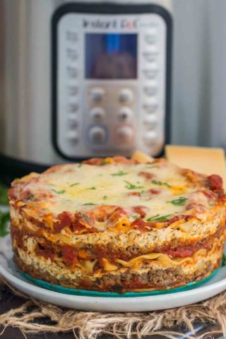 Instant Pot Lasagna Recipe