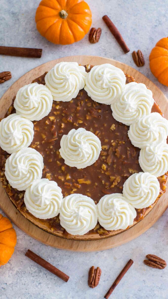 Best Pecan Pie Pumpkin Cheesecake Recipe
