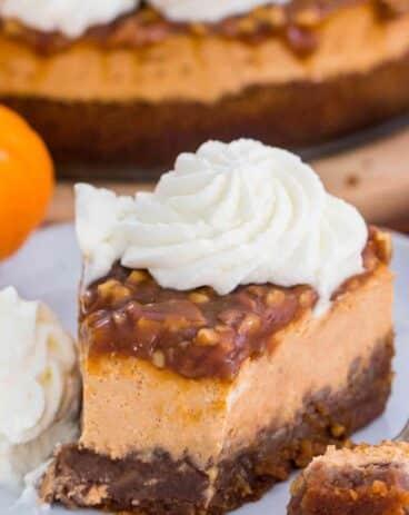 Pecan Pie Pumpkin Cheesecake