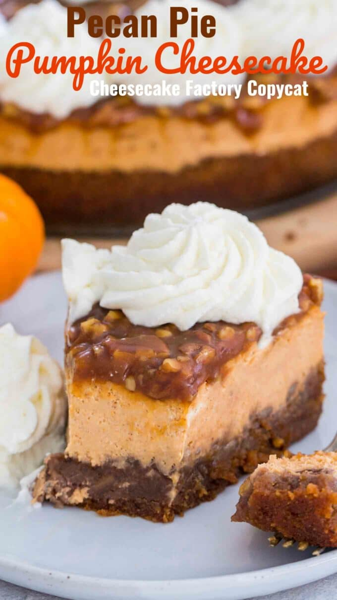 Pecan Pie Pumpkin Cheesecake Copycat Recipe