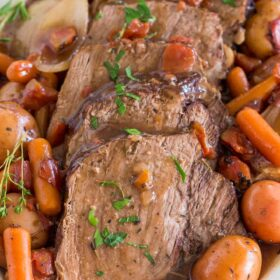 Slow Cooker Yankee Pot Roast