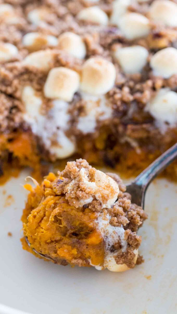 Easy Sweet Potato Casserole Recipe