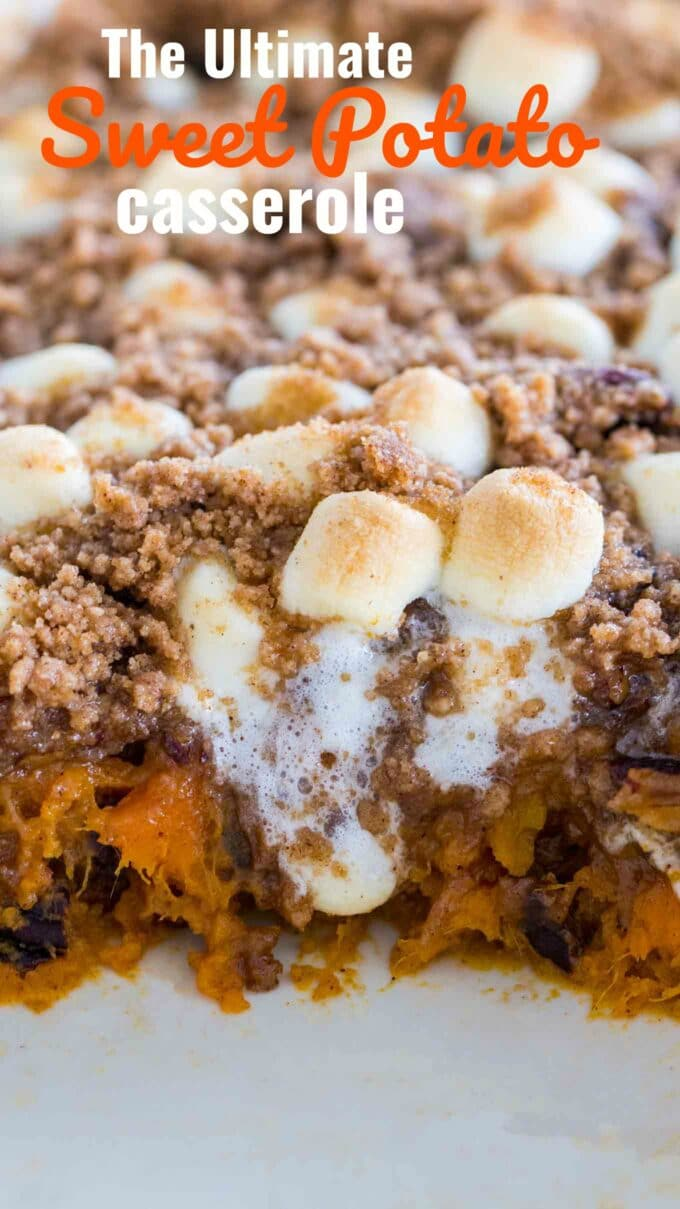 Loaded Sweet Potato Casserole Video Sweet And Savory Meals