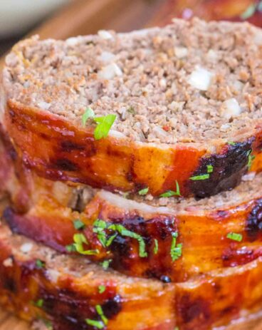 Easy Bacon Wrapped Meatloaf
