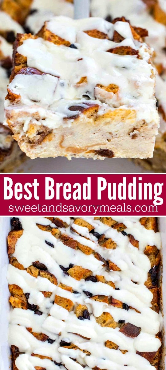 Bread Pudding Recipe with heavy cream