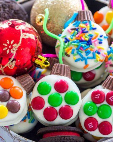 Christmas Oreo Ornaments