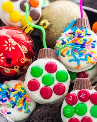 Christmas Oreo Ornaments