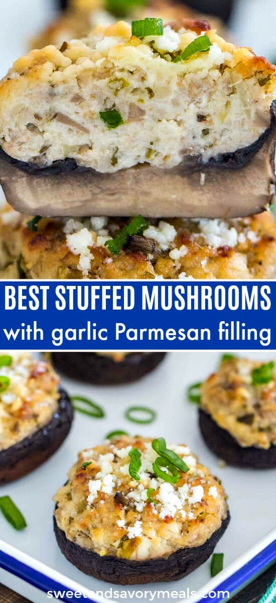 Best Stuffed Mushrooms Recipe