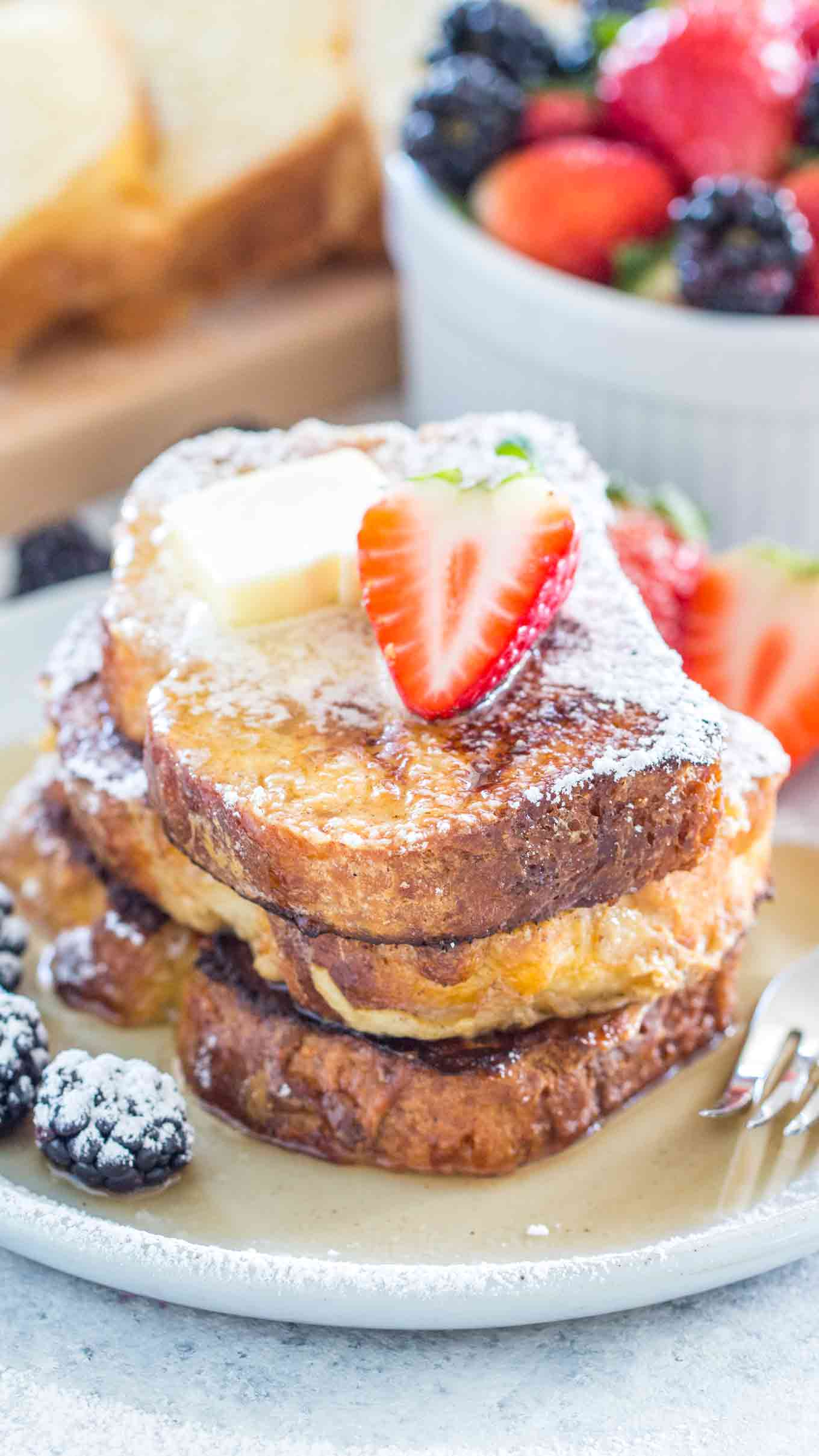 Brioche French Toast Video Sweet And Savory Meals
