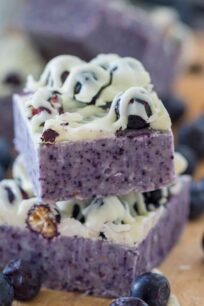 Blueberry Fudge