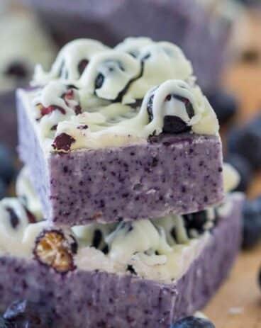 Blueberry Fudge