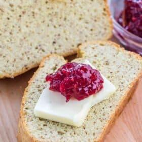 Keto Bread - No Eggy Taste!