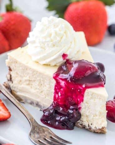 Keto Cheesecake - Low Carb and Sugar Free