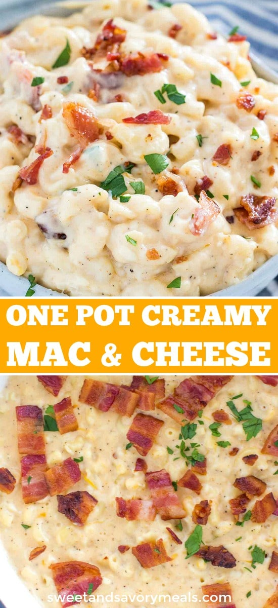 Creamy One Pot Mac and Cheese
