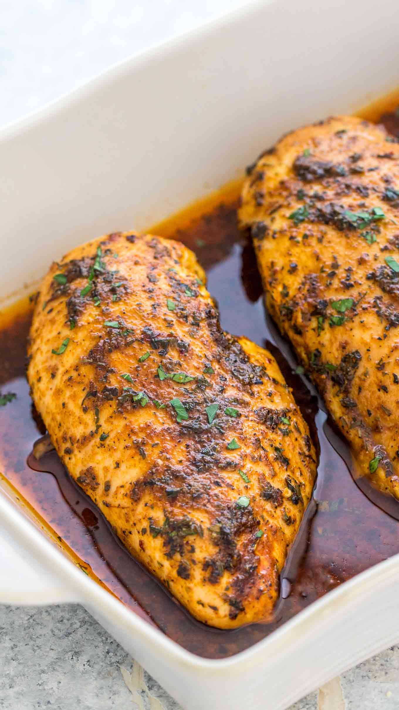 Oven Baked Chicken Breasts Recipe Juicy Flavorful Video Sweet And Savory Meals