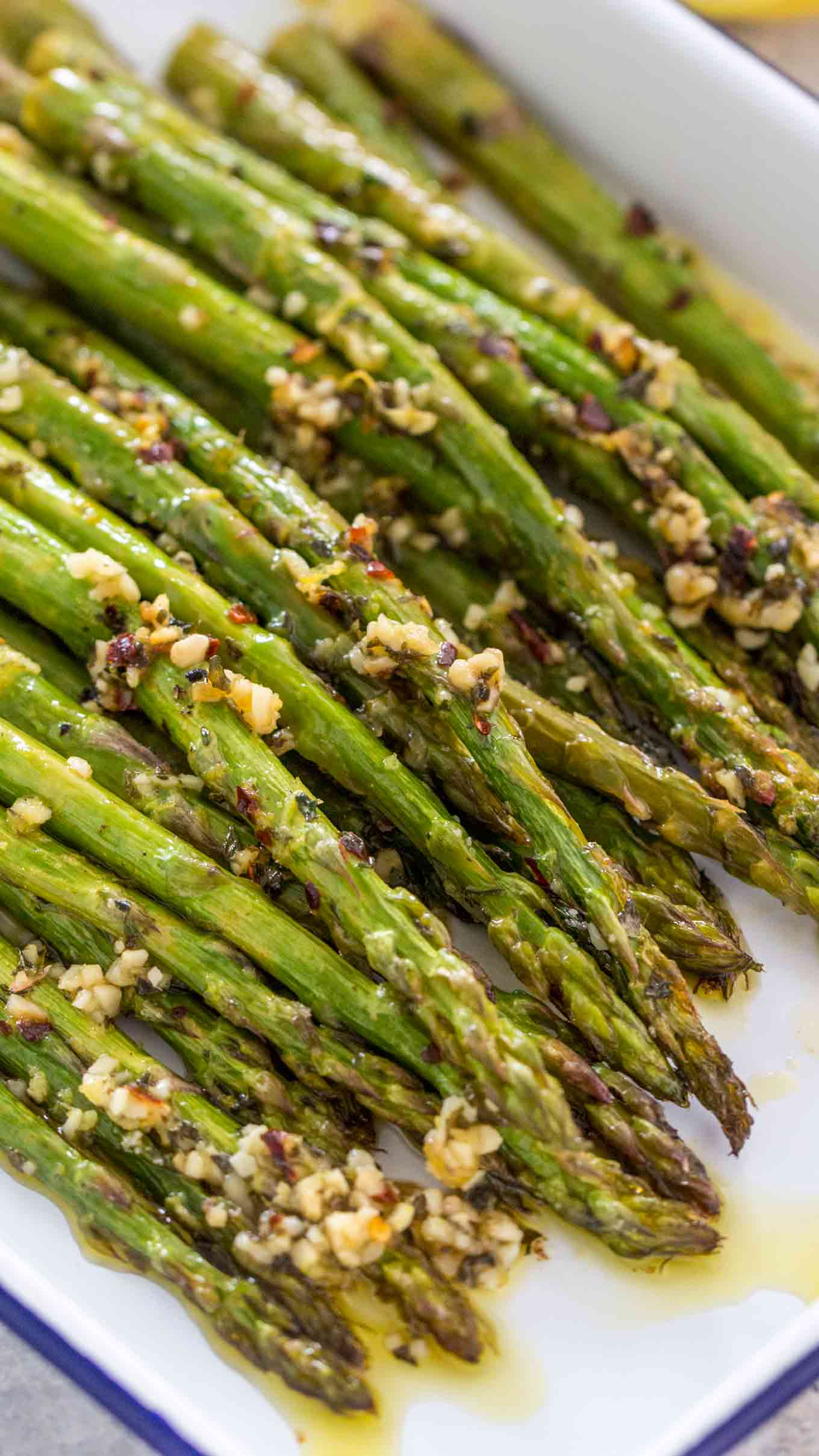 Roasted Asparagus Video Sweet And Savory Meals