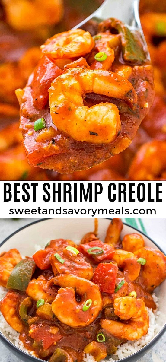 Shrimp creole photo for pinterest.