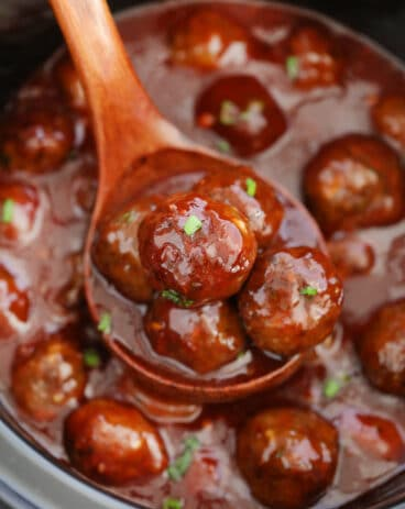 Best BBQ Crockpot Meatballs