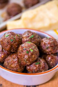 Easy Homemade Meatballs Recipe