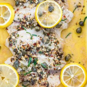 How to Cook Tilapia in the Oven with Lemon and Butter