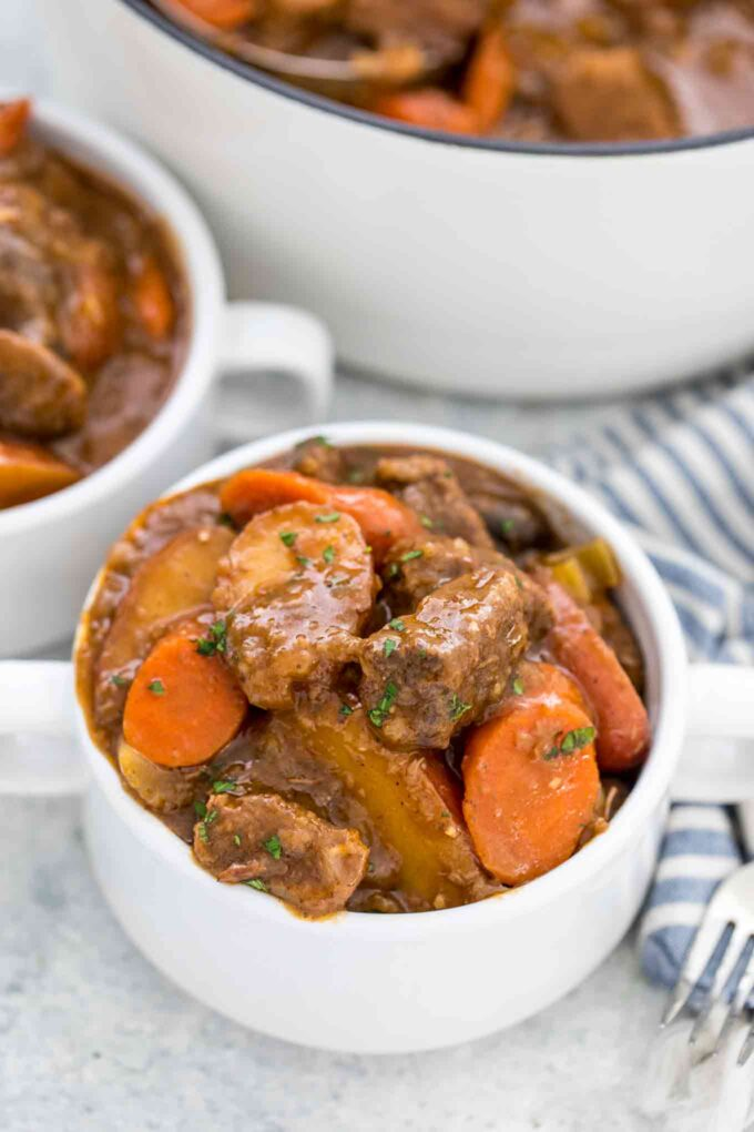 Homemade Beef Stew from Scratch