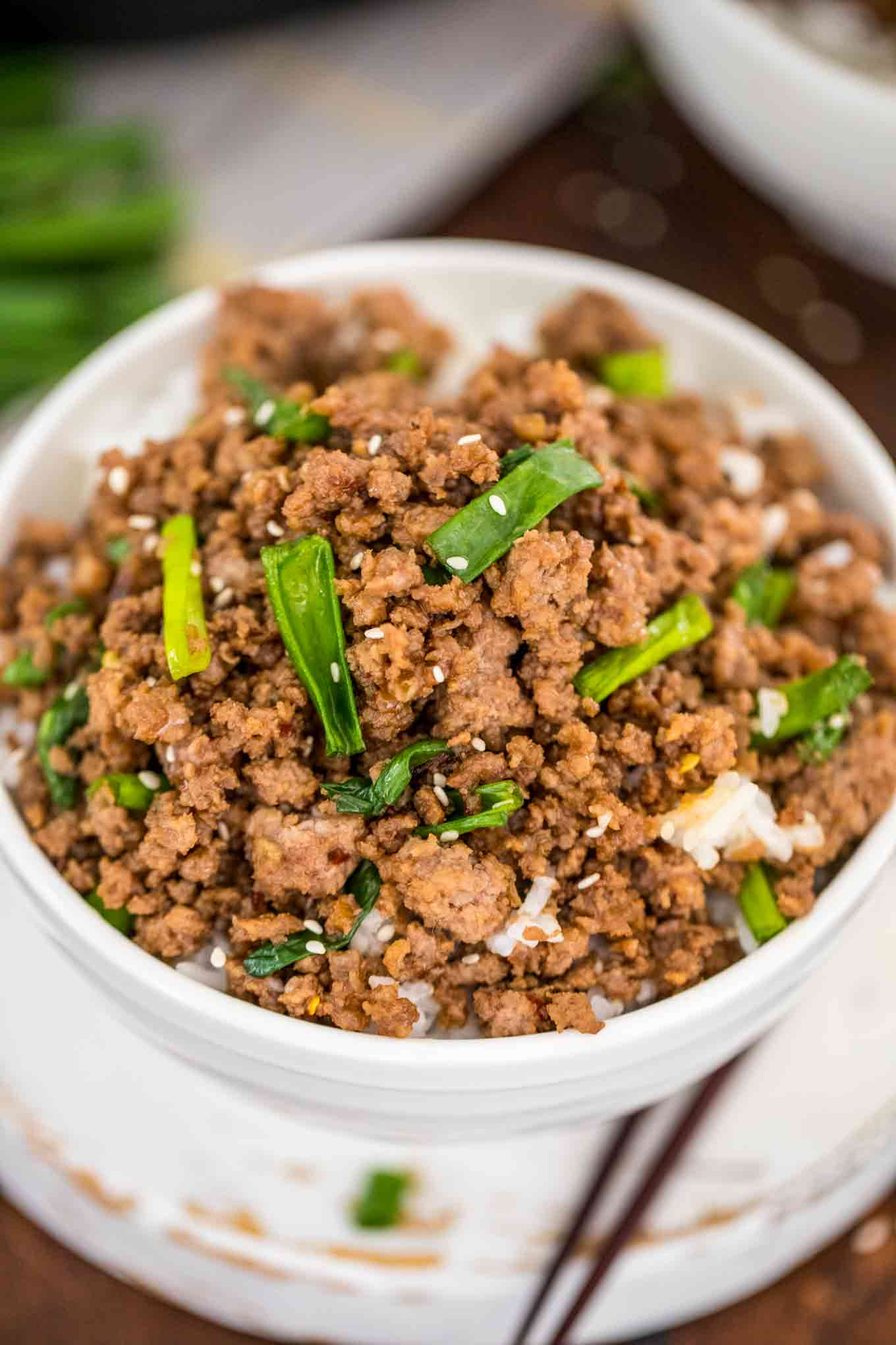 Korean Ground Beef Video Sweet And Savory Meals