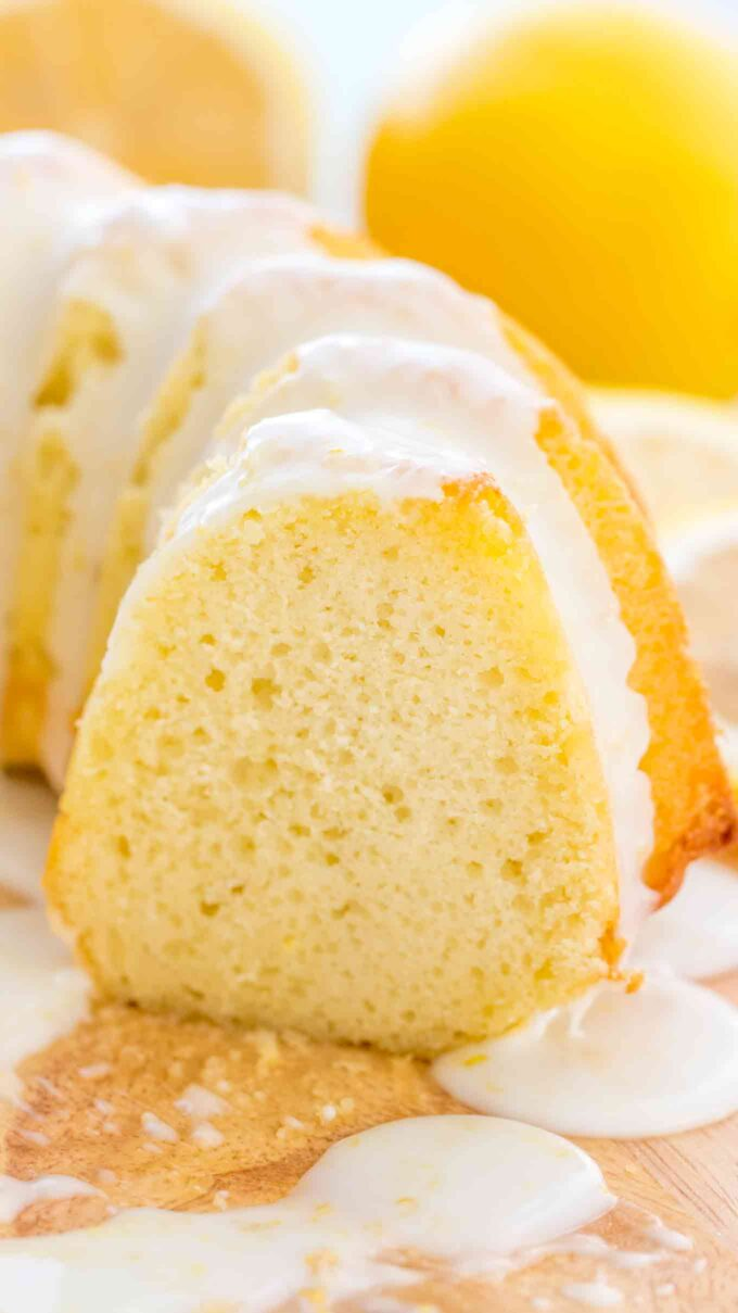 Homemade Lemon Bundt Cake Recipe