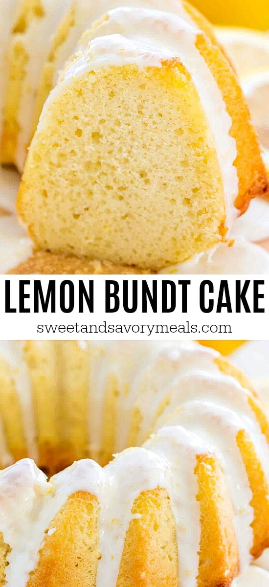 Homemade Lemon Bundt Cake with Lemon Glaze