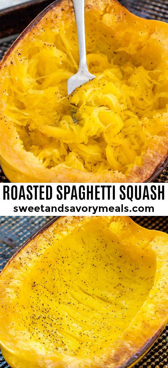 Healthy Roasted Spaghetti Squash Recipe