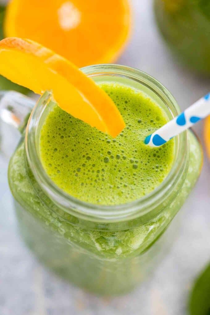 Healthy Spinach Smoothie Recipe