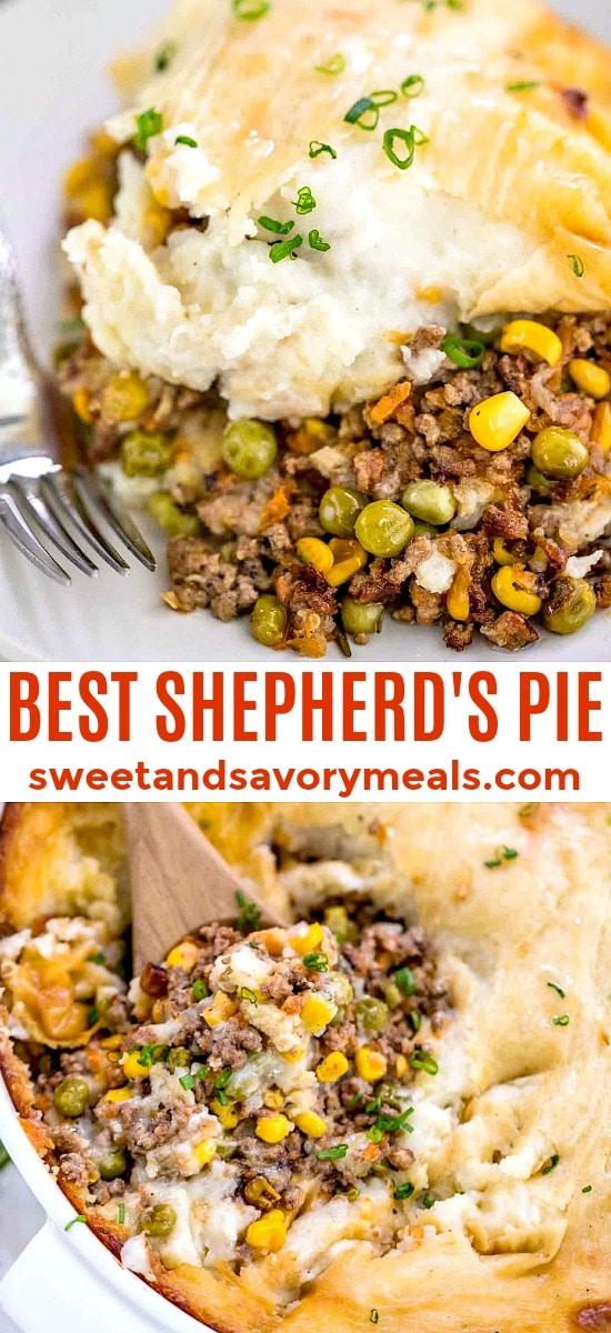 Classic shepherd's pie image.