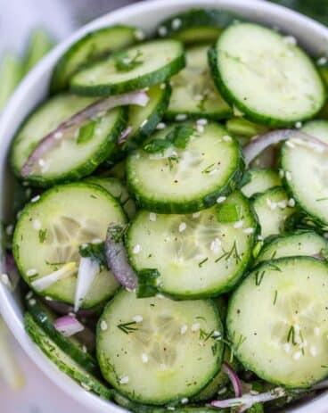 Best Cucumber Salad Recipe
