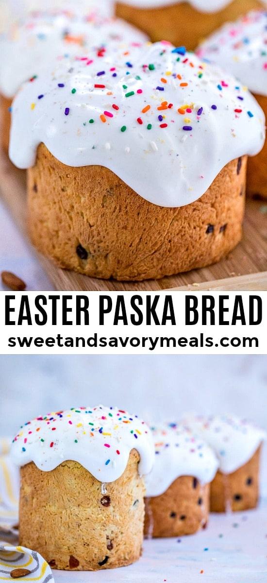 Homemade Easter Paska Bread Recipe