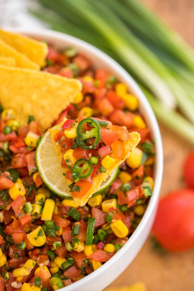 Mexican Homemade Pico de Gallo