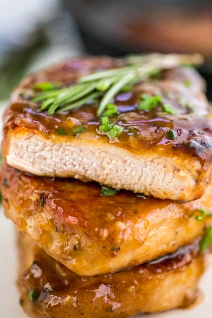 Easy Honey Garlic Pork Chops Recipe