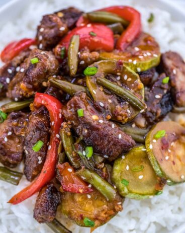 One Pan Hunan Beef Recipe